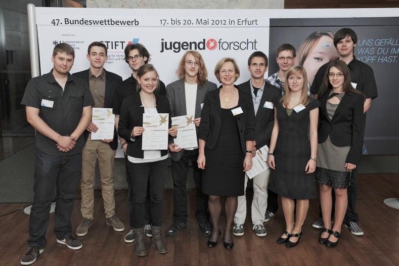 Preisträger Jugend forscht Sonderpreis JRC